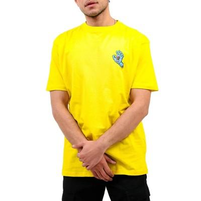 Camiseta Santa Cruz Tee Screaming Hand Chest B Yellow-B Yell