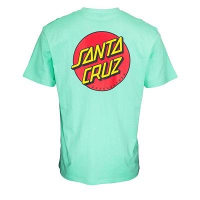 Camiseta Santa Cruz Tee Classic Dot Chest J Green-J Green