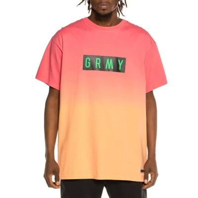 Camiseta Grimey Frenzy Gradient Pink