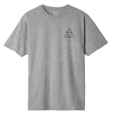 Camiseta HUF Essentials TT SS gris heather grey
