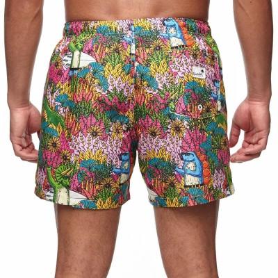 Bañador Boardies Mulga Dinosaur Mid Length Shorts