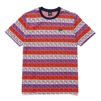 Camiseta premium HUF Otis Jacquard Knit S-S Top Poppy