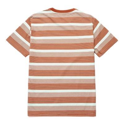 Camiseta premium HUF Berkley Stripe S-S Knit Top Mint