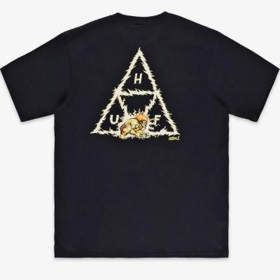 Camiseta HUF x Street Fighter Blanka Tt S-S Tee negra black