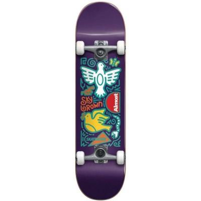 Skate Completo Almost 7.875 Skateistan Doodle Purple