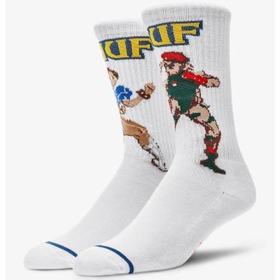 Calcetines HUF x Street Fighter Chun-Li & Cammy Sock...
