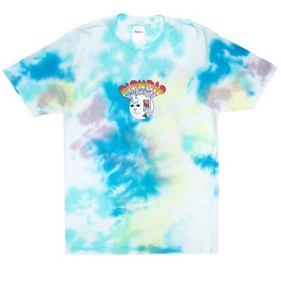 Camiseta RipNDip Out Of The Box Tee Azul Blue