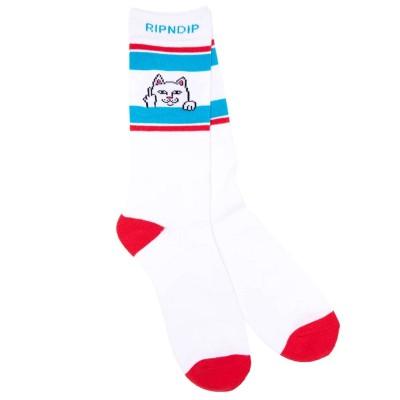 Calcetines RipNDip Peeking Nermal Socks Rojo Red