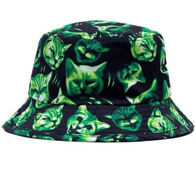 Gorro RipNDip Neon Nerm Bucket Hat Negro Black