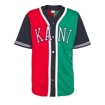 Camiseta beisbolera Karl Kani College Block Baseball...