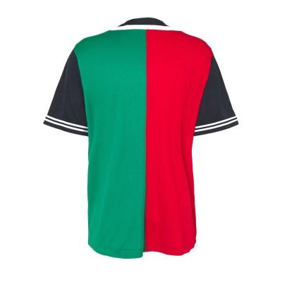 Camiseta beisbolera Karl Kani 6035459 Bicolor Rojo Red...
