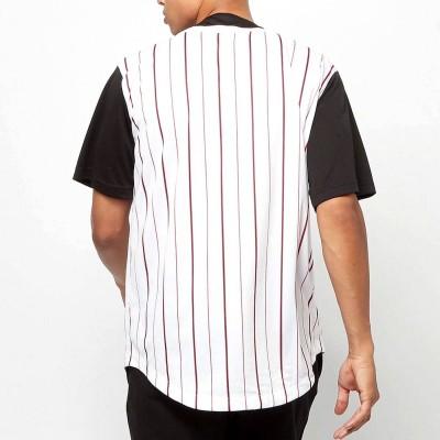 Camiseta beisbolera Karl Kani 6035461 Negro Black LINES
