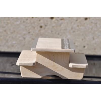 Modulo Rampa Fingerboard Blackriver Ramps Mesa Street Table