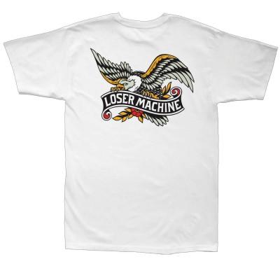 Camiseta Loser Machine Glory Bound Tee White