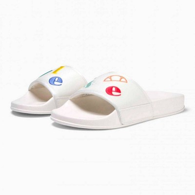 Chancla Ellesse slipper Filippo Logoplay Off Wht-Multi