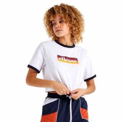 Camiseta croptop Ellesse Filide Crop T-Shirt White
