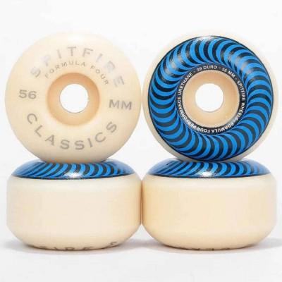Ruedas Spitfire Formula Four Classics 99 DU Azul 56mm