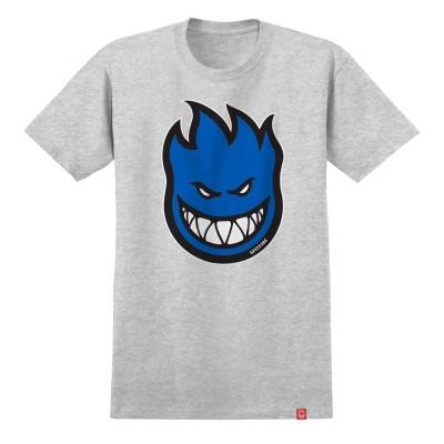 Camiseta Spitfire Bighead Fill Heather Gray-Blue