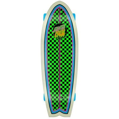 "Cruiser Santa Cruz Rad Dot Shark Cruiser 8.8"" Complete"