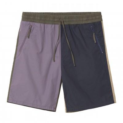 Pantalón corto Carhartt Valiant 4 Short Provence rinsed