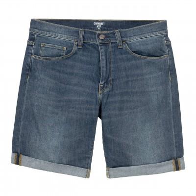 Pantalón corto Carhartt Swell Short Blue dark worn wash