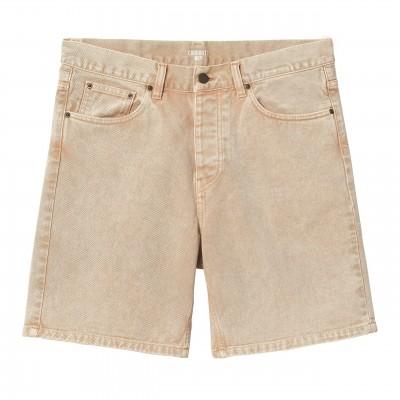 Pantalón corto Carhartt Newel Short Dusty H Brown worn...