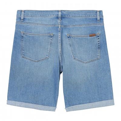 Pantalón corto Carhartt Swell Short Blue worn bleached