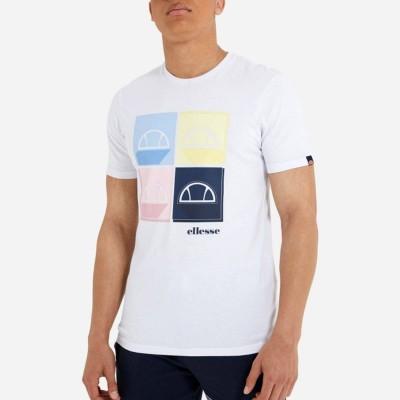 Camiseta Ellesse Dice Mens Tee White