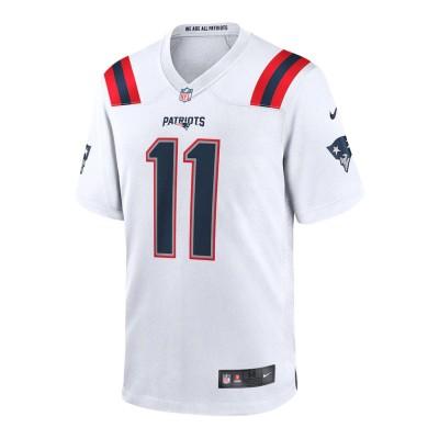 Camiseta Premium Nike NFL Patriots Edelman Loose Fit White