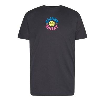 Camiseta Ellesse x Smiley Cheero Dark Grey