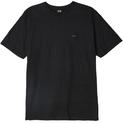 Camiseta OBEY Radiant Lotus negra black