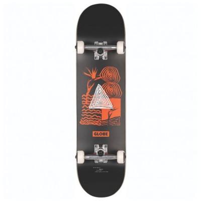 "Skate Completo Globe 8.125"" G1 Fairweather Black-Red"
