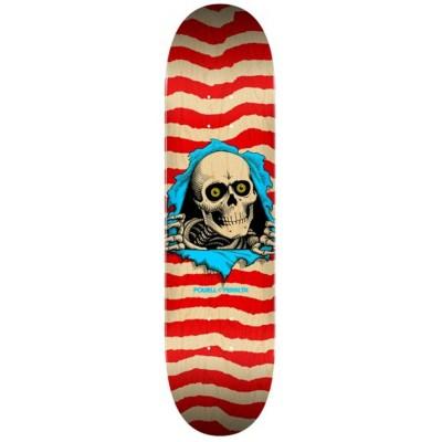 "Tabla Skate Powell Peralta 8.5"" Ripper Natural Red"