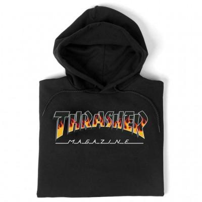 Sudadera Thrasher BBQ Redux Hood Black
