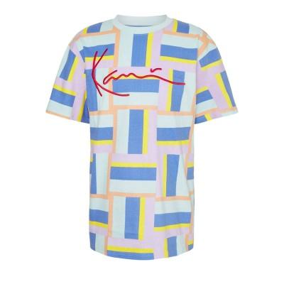 Camiseta Karl Kani Signature Block Tee Multicolor