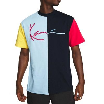Camiseta Karl Kani Signature Block Tee Azul Marino Navy...