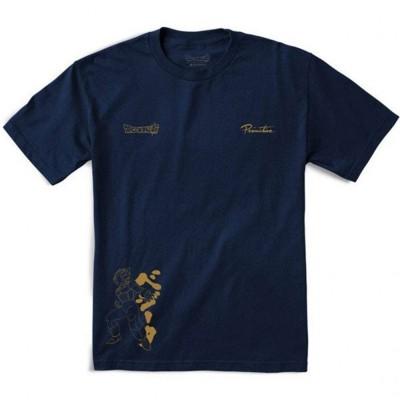 Camiseta Primitive Vegeta Rage Dragon Ball azul navy