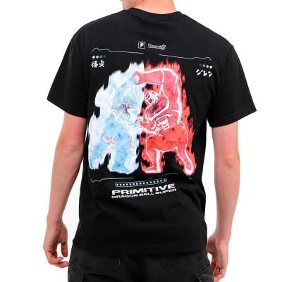 Camiseta Primitive Goku Vs Jiren Survival Dragon Ball...