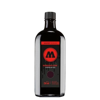 Tinta permanente Molotow negra SPEEDFLOW Cocktail 250ML