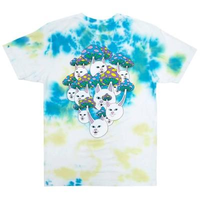 Camiseta Ripndip Boomer Gang Tee (Yellow/Blue Acid Wash)