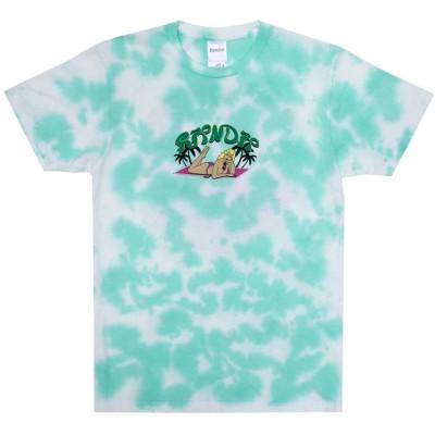 Camiseta Ripndip Nermrider Beach T-Shirt Mint Cloud Wash