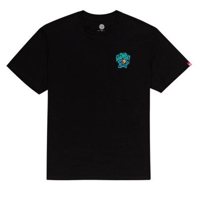 Camiseta Element Bashooka Ss Flint Black