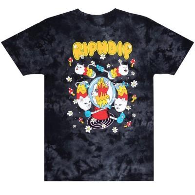 Camiseta Ripndip space gravy (Black Lightning Wash)