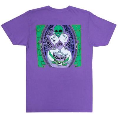 Camiseta Ripndip Firewire (Light Purple)