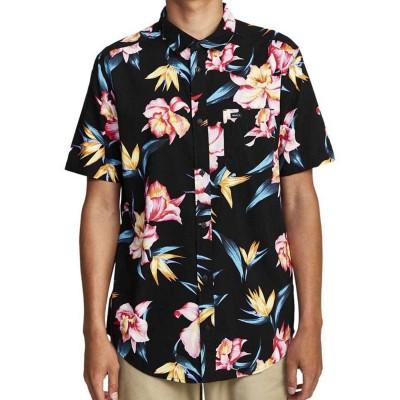 Camisa RVCA Akora Floral Ss Black