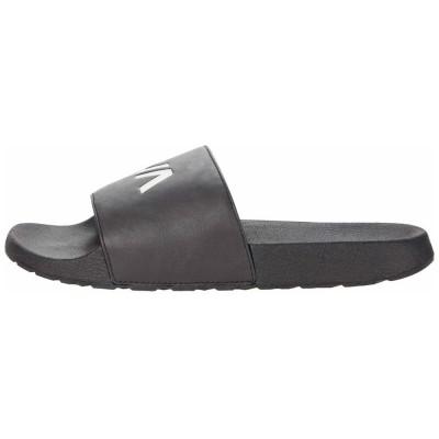 Chancla sandalia slipper RVCA Rvca Sport Slide Black/White