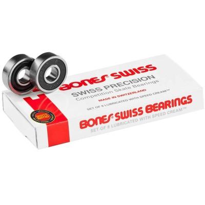Rodamientos Bones Swiss Precision 7 Balls Skateboard
