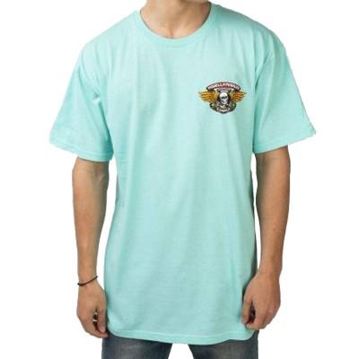 Camiseta Powell Peralta Winged Ripper T-Shirt - Celadon