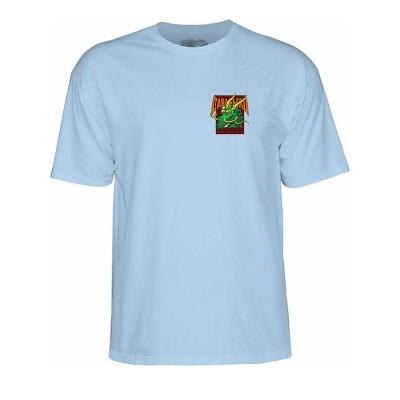 Camiseta Powell Peralta Caballero Street Powder Blue