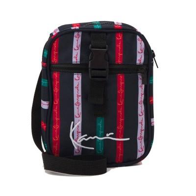 Bolsa de hombro Karl Kani Originals Stripe Messenger Bag...